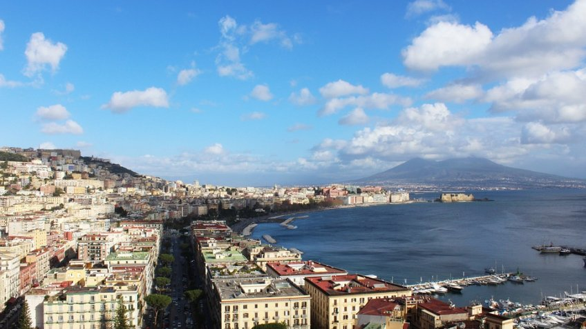 NAPLES AND CASERTA FULL  DAY (8 HOURS) BY CAR 1/3 PAX