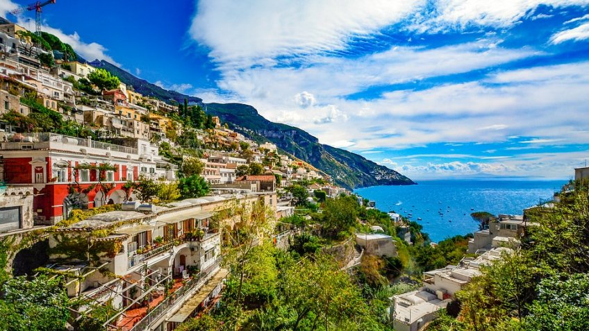 POSITANO FULL DAY ( 8 HOURS) BY CAR 1/3 PAX