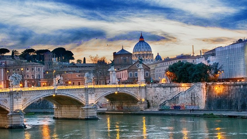 ROMA FULL  DAY (9 HOURS) BY MINIVAN 4/8 PAX