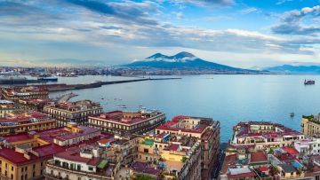 NAPLES AND SOLFATARA FULL  DAY (8 HOURS) BY MINIVAN 4/8 PAX