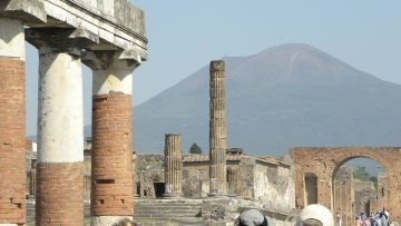 POMPEII NAPLES FULL  DAY (8 HOURS) BY MINIVAN 4/8 PAX