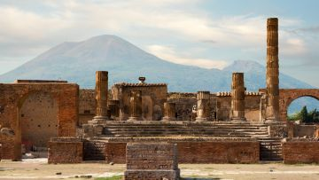 POMPEII PAESTUM FULL  DAY (8 HOURS) BY CAR 1/3 PAX