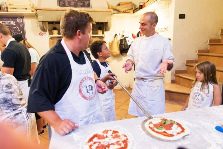 Pizza making class